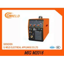 Máquina de soldadura Multifunction do inversor IGBT MIG (MIG M2016)