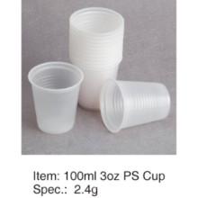 Popular Soft PS Plastic Cup Haute qualité 3oz / 90ml