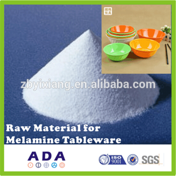Raw material for melamine dinner set
