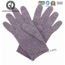 Fábrica de lana de algodón de invierno baratos cálidos guantes Kintted