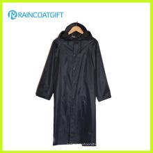 Imperméable en PVC à manches longues en polyester (RVC-103)