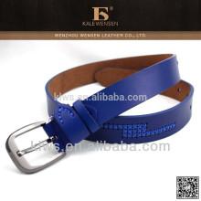 Blauer Gürtel für Frauen / Ledergürtel Frauen / Frauen Leder Korsett Gürtel