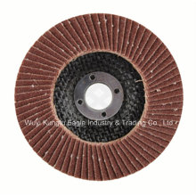Aluminum Oxide with Fibre Glass Cover Flap Disc