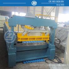 Máquina de moldagem de folhas de metal ondulado com controle de toque PLC