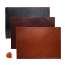 Leather Stitched Desk Pad