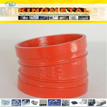 300 Psi Grooved Pipe Fittings Ductile Iron 22.5 Degree Elbow