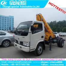 Fábrica qualidade XCMG 3.2 ton Crane Knuckle Boom caminhão guindaste montado