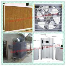 Ventiladores de ventilação especializados para frango