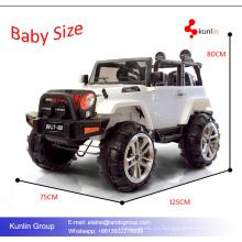 Dos asientos niños rueda Shinning vehículo de juguete