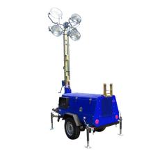 Tour d'éclairage mobile extérieure pour l'éclairage de construction
