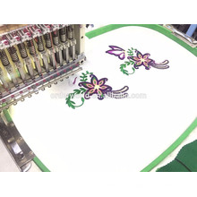 6 cabeças misturaram preços da máquina do bordado do computador e preço da máquina do ajuste do rhinestone