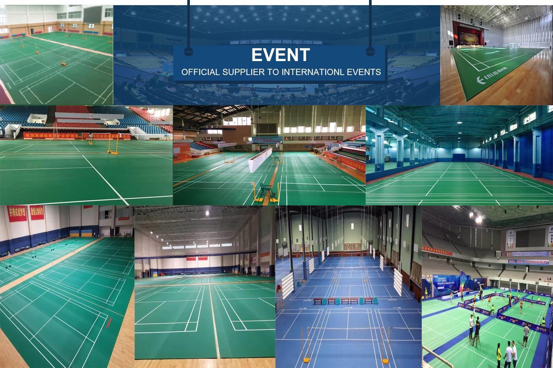 vinyl badminton court mat gallery