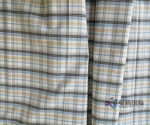 Beautiful Dobby Check Fabric
