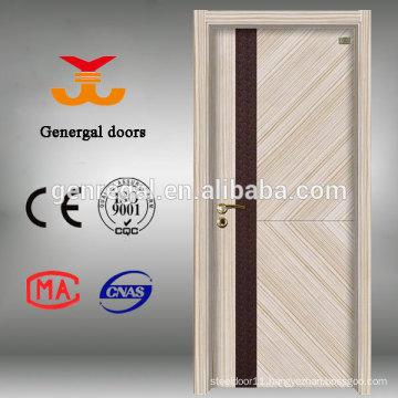 Eco friendly hollow core flush melamine MDF door
