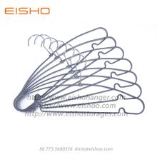 Cintres métalliques antidérapants recouverts de PVC EISHO