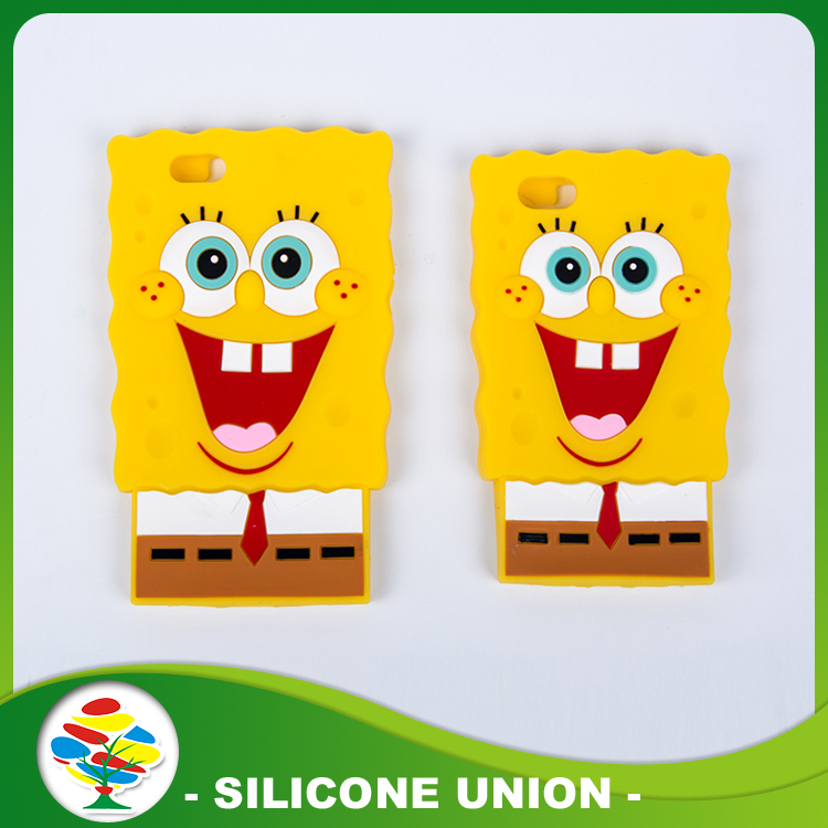 Spongebob Silicone Cellphone Wallet