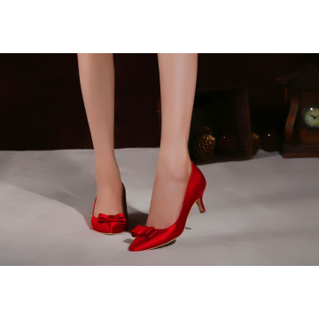 Pop Fashion Ladies High Heel Wedding Dress Shoes (HCY02-1865)