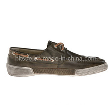 Fashion Casual Sport Leather Boat Shoes