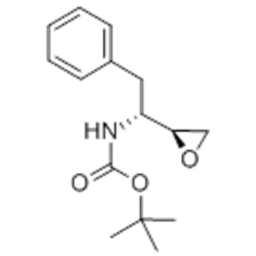 Carbamic acid,N-[(1R)-1-[(2S)-2-oxiranyl]-2-phenylethyl]-, 1,1-dimethylethyl ester CAS 156474-22-5