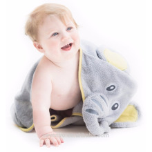 High quality Elephant Hooded Baby Towel,Hooded Kids bathrobe wholesale China Supplier