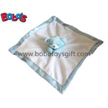 Одеяло детского утешителя голубого медведя голубого медведя сделанное Кита в оптовой цене