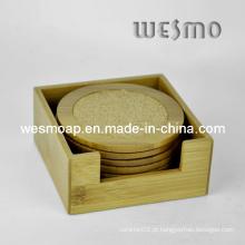 Presente de promoção Madeira e almofada de cortiça (WTB0503A)