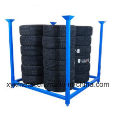 Folding 60X60 Inch Metal Tire Tyre Collapsible Stackable Stillage