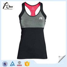Polyester Gym Wear Sports Singlets Women Athlete Singlet