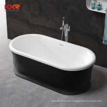 good quality KKR bath tub kingkonree solid surface bathtub factory