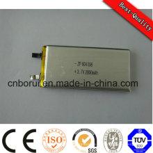 Wiederaufladbare Lithium-Ionen-Polymer-Batterie Pristmatic 520mAh 3.7V für Barcode-Scanner