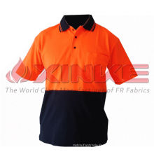 T-shirt de protection UV 100% coton pour l'extérieur