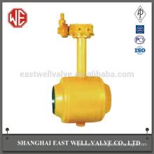 Шаровой кран с пневматическим приводом диаметром 200 мм