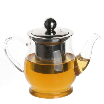 Factory selling for Glass Tea Cups Hand Blown Pyrex Glass Teapot with Filter supply to Malaysia Suppliers