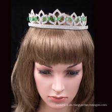 Tiara de las tijeras de la corona de la tiara del diseño simple tiara