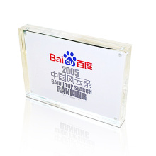 A5 Size Plexiglass Picture Block for Business Card