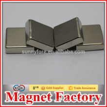 Nickel square strong magnets for sales