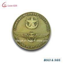 Заказной металла вызов античных монет Survenir