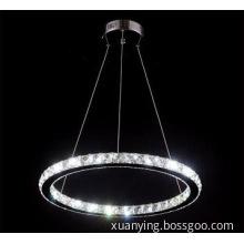 Decorative Lighting Modern K9 Crystal Hanging Lamp in D500mm Size
