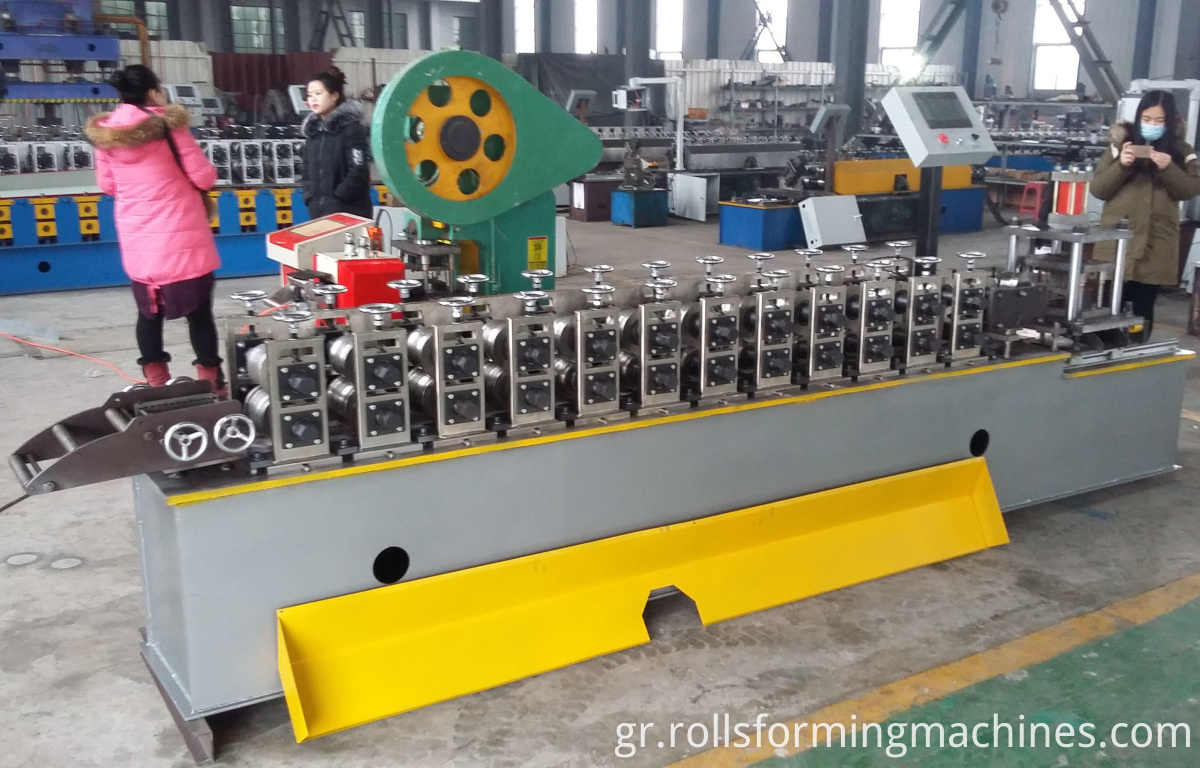 PU Shutter Door Roll Forming Machine