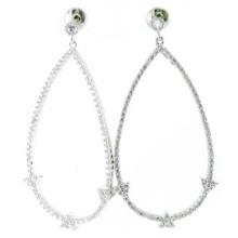 Buena Quailty y joyería de la manera para la mujer Pendiente de plata 925 (E6482)