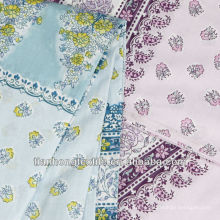 Twill Flower African Cotton Printed Muslin Fabric