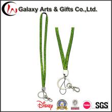 Green Crystal Rhinestone Lanyard Key Holder