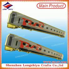 Горячая Распродажа изготовленная на заказ Плакировка золота и мягкая эмаль зажим для галстука в низкой цене