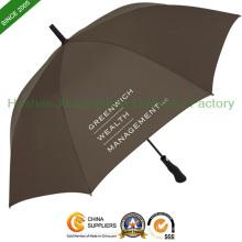 Auto imprimé Open de Golf parapluies aux nervures en fibre de verre de qualité (GED-0027FA)