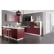 Gabinete de cocina de carcasa de melamina de venta caliente