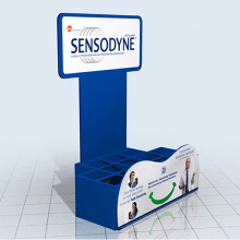 Cardboard Display with Compartment, Paper Display Stand