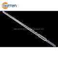 HDPE/PPR pipe extruder machine single plastic screw barrel