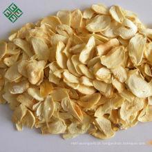 Fabricante de flocos de alho seco desidratado branco puro