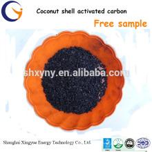 preço granulado de carvão ativado com coco