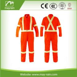 Orange Reflective Safety Coverall Suit
